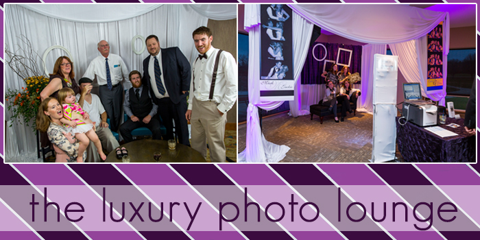 the wedding luxury photo lounge